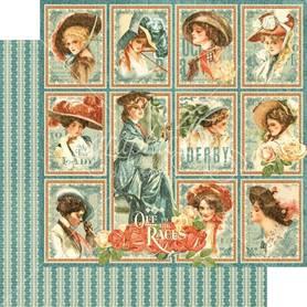 (4501454) Arkusz papieru Graphic 45 - 30x30cm
