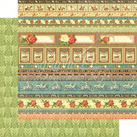 (4501457) Arkusz papieru Graphic 45 - 30x30cm