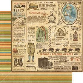 (4501358) Arkusz papieru Graphic 45 - 30x30cm
