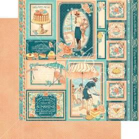 (4501427) Arkusz papieru Graphic 45 - 30x30cm
