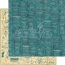 (4501425) Arkusz papieru Graphic 45 - 30x30cm