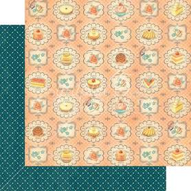 (4501428) Arkusz papieru Graphic 45 - 30x30cm