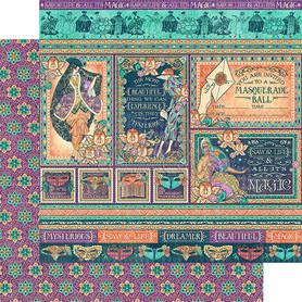 (4501544) Arkusz papieru Graphic 45 - 30x30cm