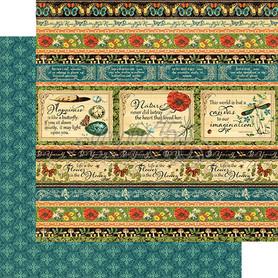 (4501475) Arkusz papieru Graphic 45 - 30x30cm