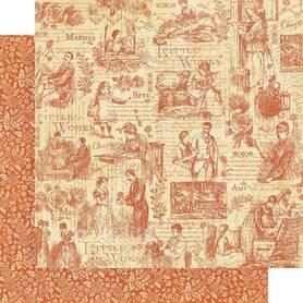 (4501656) Arkusz papieru Graphic 45 - 30x30cm