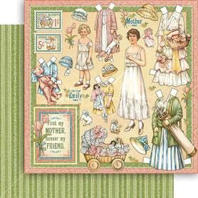 (4501583) Arkusz papieru Graphic 45 - 30x30cm