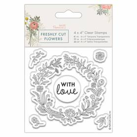 Stemple Papermania - Floral Wreath  (907264)