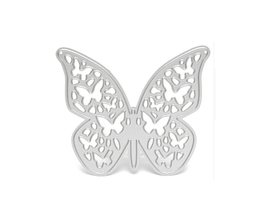 Wykrojnik Scrapbooking Motyl ażurowy + małe motylki