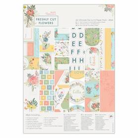 Zestaw papierów A4 Freshly Cut Flowers - 48 el (160331)