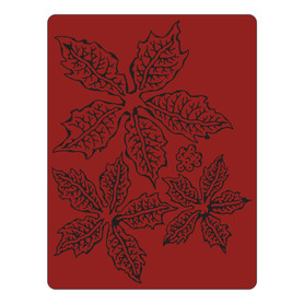 662198 Sizzix Folder do embossingu - Poinsettia