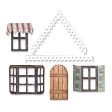 662699 Wykrojnik Sizzix - Village Fixer Upper - Elementy domku