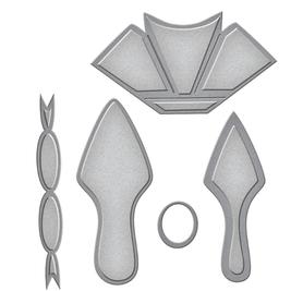 Wykrojnik But damki 3D (1556-B4)