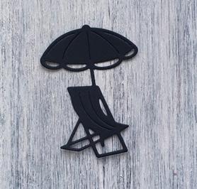 Wykrojnik Leżak z parasolem RU1719/6