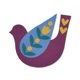 Wykrojnik Sizzix Bigz - Folk Bird  663404