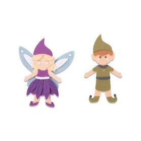 Wykrojnik Sizzix Bigz L - Elf & Fairy  663495