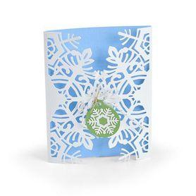 Wykrojnik Sizzix - Card Wrap Snowflake 663606