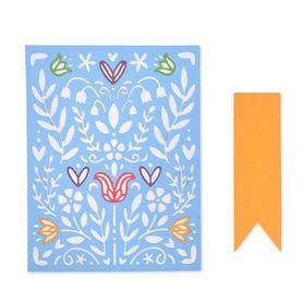 Wykrojnik Sizzix - Folk Art Stenci 663608