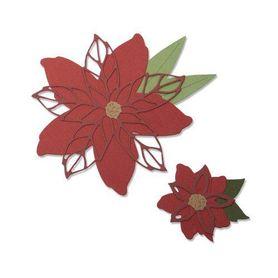 Wykrojnik Sizzix - Poinsettia 663464