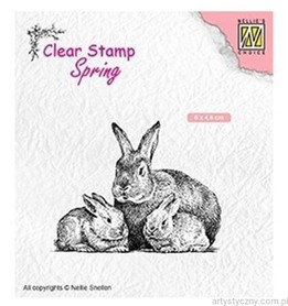 Stempel Nellie - Rabbit family - Króliczki SPCS010