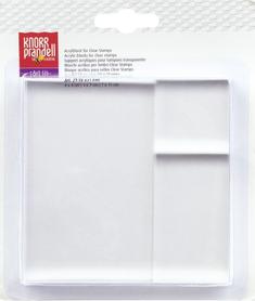 Zestaw bloczków akrylowych do stempli - 3szt (690)