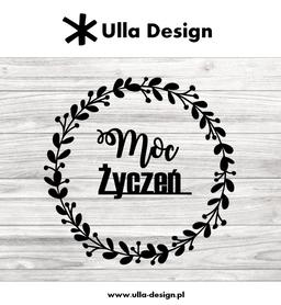 Wykrojnik ULLA DESIGN - Moc Życzeń Wianek (0719-3)