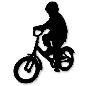 Wykrojnik Chłopiec na rowerze (2549-U3)