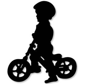 Wykrojnik Chłopiec na rowerze (2550-U3)