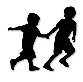 Wykrojnik Dzieci w biegu (2554-U3)