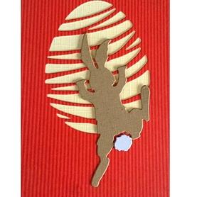 Wykrojnik Wspinający się królik Zając (2204-R3)