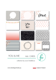 Karty do journalingu FP - YOU & ME