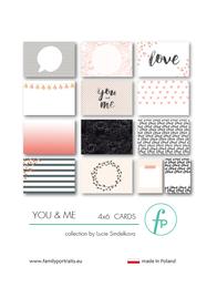 Karty do journalingu FP - YOU & ME