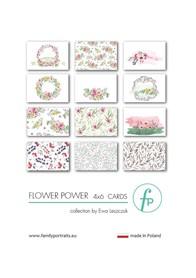 Karty do journalingu FP - FLOWER POWER