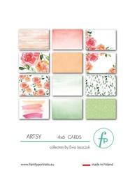 Karty do journalingu FP - ARTSY
