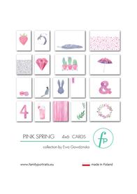 Karty do journalingu FP - PINK SPRING