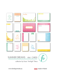Karty do journalingu FP - SUMMER DREAMS