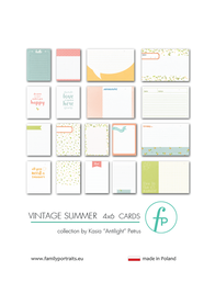 Karty do journalingu FP - VINTAGE SUMMER