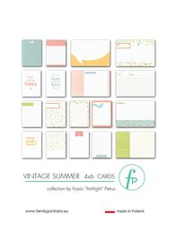Karty do journalingu FP - VINTAGE SUMMER