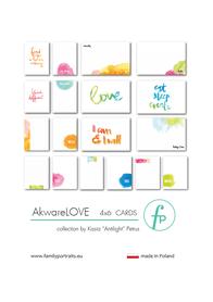Karty do journalingu FP - AkwareLOVE
