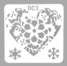 Szablon 13x13 cm (STEN15-3DC)