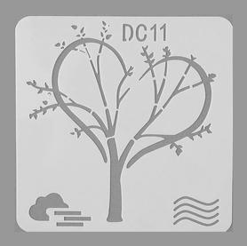 Szablon 13x13 cm (STEN15-11DC)