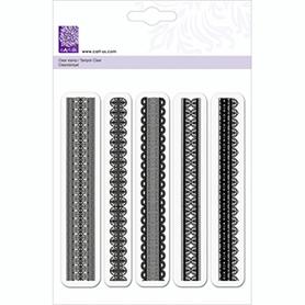 Stempel silikonowy - Koronki (903)