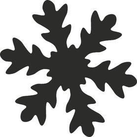Dziurkacz ozdobny Heyda -Śnieżynka 65 mm (7562)
