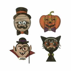 Wykrojnik Sizzix Thinlits - Hip Haunts 664206