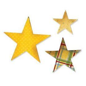 Wykrojnik Sizzix Bigz - Star 656339
