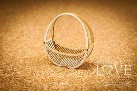 Tekturka - Koszyk okrągły 3D (171289)