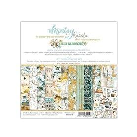 Zestaw papierów 15x15 - Mintay - Old Manor
