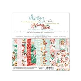 Zestaw papierów 15x15 - Mintay - The Sweetest Christmas