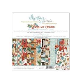 Zestaw papierów 15x15 - Mintay - Home for Christmas