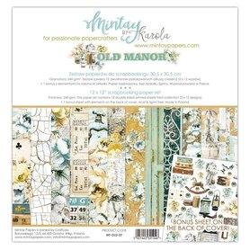 Zestaw papierów 30x30 - Mintay - Old Manor