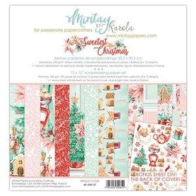 Zestaw papierów 30x30 - Mintay - The Sweetest Christmas